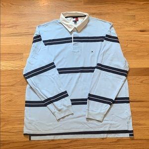 Vintage 90's Rugby Polo Men's Size XXL